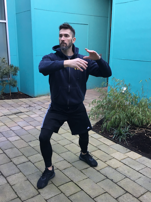 Picture of Tai chi pose
